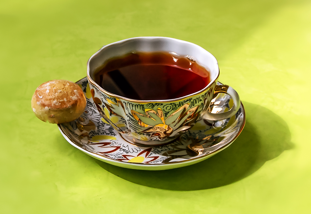 Чай с пряником....jpg